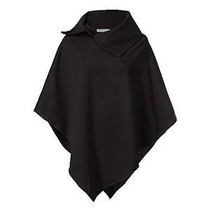Jackets & Blazers - Shawl collar poncho cape fall sweater